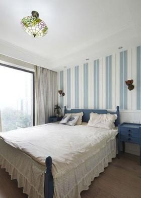 地中海风格两室一厅卧室效果图
