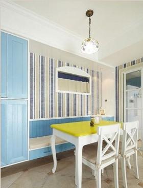 地中海风格家庭餐厅装修图片欣赏