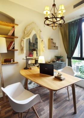 二居室书房装修效果图片