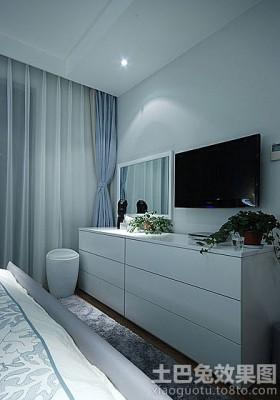 卧室液晶电视背景墙装修效果图