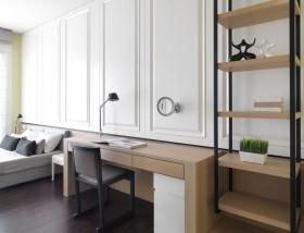 卧室书房实木书桌图片欣赏