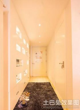 进门玄关地毯装饰效果图片