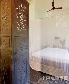 混搭复古卧室装修效果图片