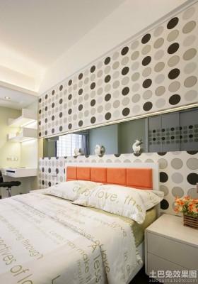 家装样板房卧室背景墙效果图