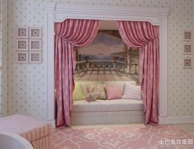 儿童房沙发背景墙画图片