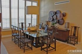餐厅餐桌泰国手工艺品图片