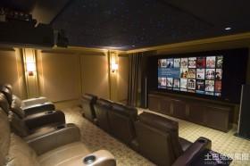 家庭影院设计装修案例效果图