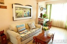 美式风格客厅红木茶几图片大全