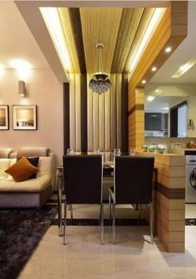 现代50平米小户型餐厅装修效果图