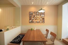 家装餐厅照片墙装修效果图