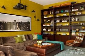 现代客厅墙面漆颜色效果图