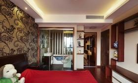 中式小户型主卧室装修效果图