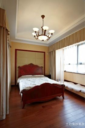美式次卧室装修效果图大全2013图片