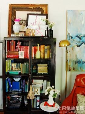 家庭简易书橱装修效果图片