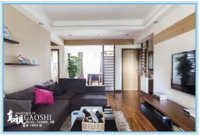 日式混搭客厅装修效果图片