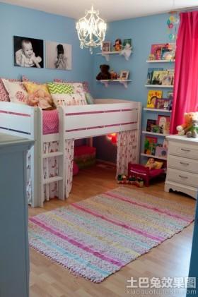家居儿童房间布置效果图片大全