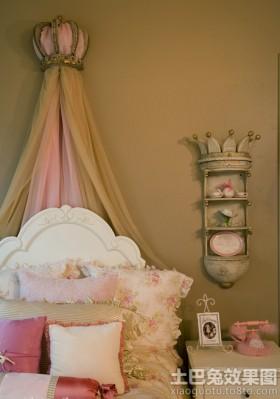 公主房床头装饰效果图片