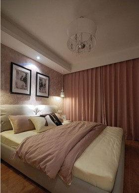 现代简约70平米小户型卧室装修效果图