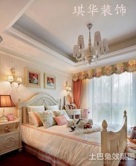 欧式风格儿童房温馨欧式儿童房装修效果图大全