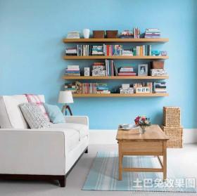 客厅墙上置物架图片大全