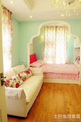 卧室背景墙沙发家居温馨卧室图片大全