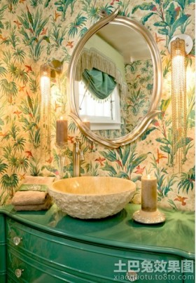 卫生间创意洗脸盆效果图