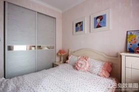 韩式田园风格装修卧室衣柜图片