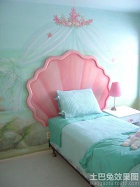 创意儿童房墙面彩绘装修效果图