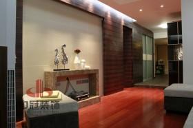 混搭两室两厅瓷砖电视背景墙装修效果图