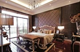 欧式奢华装修风格别墅卧室装修效果图片