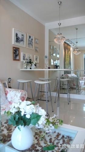 简约餐厅装饰效果图大全2013图片