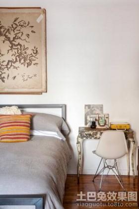 混搭风格公寓装修卧室图片