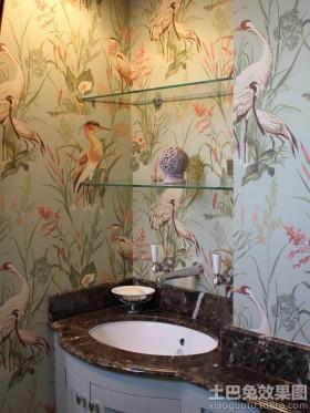 洗手间室内墙体彩绘图片