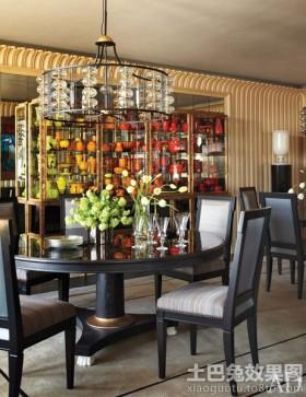新古典主义风格餐厅效果图