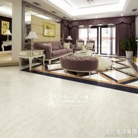 欧式家装客厅地板砖效果图
