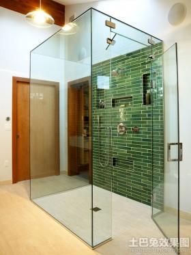 玻璃浴室效果图