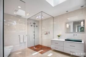 玻璃浴室装修效果图大全2013图片