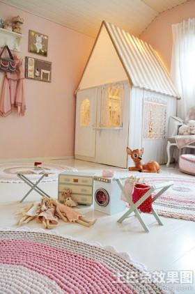 创意儿童房间布置效果图