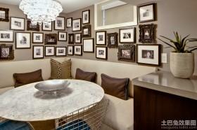 家庭餐厅大理石台面图片