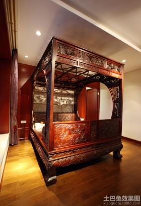 复古风格卧室装修图片