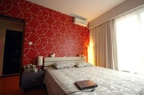 简约60平米小户型卧室墙纸效果图