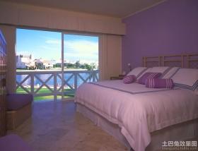 浅紫色房间装修图片