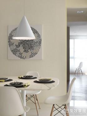 简约家庭餐厅吊灯图片