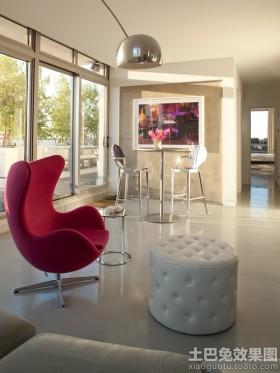 现代别墅家居休闲椅图片