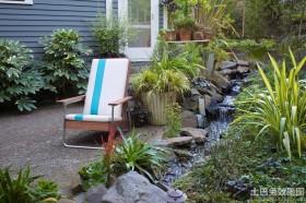 别墅庭院户外休闲椅图片欣赏