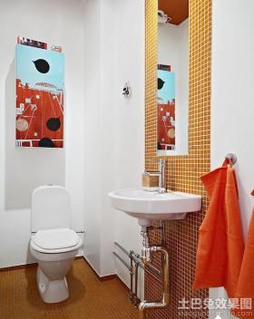 北欧风格别墅卫生间装修效果图