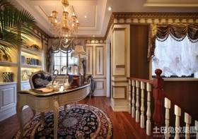 奢华欧式书房装修效果图欣赏