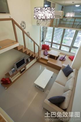 别墅客厅榻榻米装修效果图