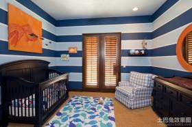 婴儿房墙面装饰效果图片