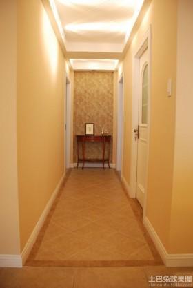 室内过道海藻泥墙面漆效果图
